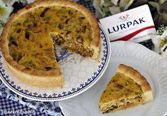 PANELATERAPIA - Blog de Culinária, Gastronomia e Receitas: Quiche de Funghi, Cebola e Manteiga Lurpak