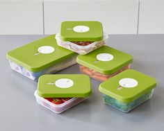 Joseph Joseph Dial™ | Food storage containers with dateable lid