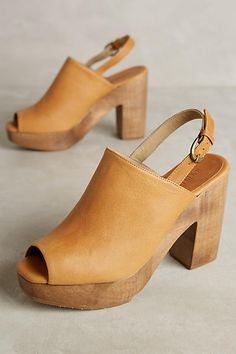 91129d6d6c5b Rachel Comey Gobi Clogs Love the leather color and chunky heel platform
