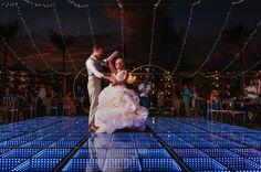 First dance beautiful decor in Cancun Mexico