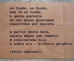 Por Paulo Leminski