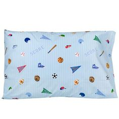 Olive Kids Game On 100% Cotton Pillow Case