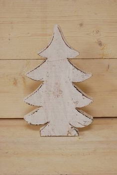 Deco kerstboom wit