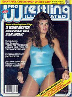 Wendi Richter PWI cover