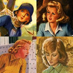 Nancy Drew through the ages.