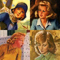 Nancy Drew through the ages.