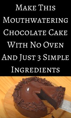 Death By Chocolate, Chocolate Cake, Ice Cream Pies, Bread Machine Recipes, Brownie Cake, Food Staples, Camping Meals, Baking Tips, Home Hacks