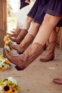 boots, country wedding  photo by http://www.carliestatsky.com/