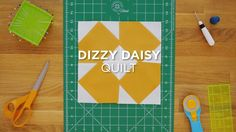 Click here for the full tutorial: http://bit.ly/2oshBAQ Here is a super cute, super quick way to create a quilt using a layer cake or charm packs. This fun f...