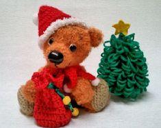 Christmasbear - amigurumi PDF crochet pattern
