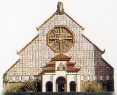 Église Notre-Dame-des-Missions du Cygne d'Enghien, Épinay-sur-Seine...Ile de France