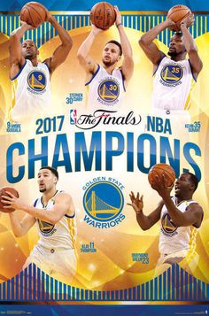 Golden State WARRIORS   2017  NBA Champions  Team   Fridge Magnet 2.5 x 3.5 #GoldenStateWarriors