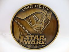 Star Wars Episode III 3 Revenge of the Sith Limited Edition Collector Coin Vader