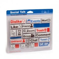 Social Talk Magnets $12,99