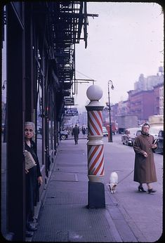 """Walker Evans (American, 1903–1975). [16 Views of New York Streets, Possibly for """"Street Furniture"""" Series], 1953. The Metropolitan Museum of Art, New York. Walker Evans Archive, 1994 (1994.259.58.1-16) © Walker Evans Archive, The Metropolitan Museum of Art #newyork #nyc"""