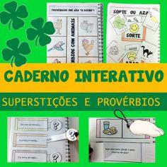 Código 594 Caderno Interativo - Superstições e provérbios