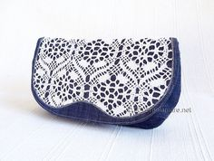 Clutch bag made from