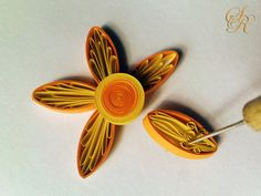 Tutorial Quilled Royal Flower