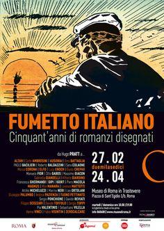 CINQUANT�ANNI DI FUMETTO ITALIANO AL MUSEO DI ROMA