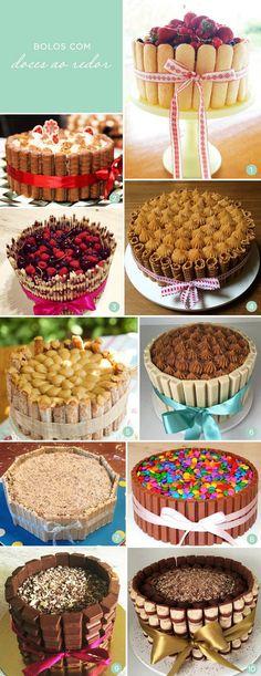 A moda pegou mesmo com o bolo de kit kat. A partir daí, foram surgindo variações - bolo de bis, bolo de kinder bueno, até o bolo de churros, a febre do mom