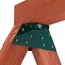 EZ frame bracket swing set