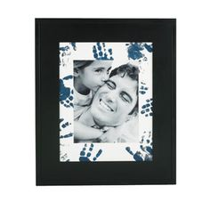 Frame with Hand Prints