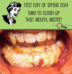 Happy first day of Spring! What a great day to clean... teeth! http://blog.dmsmiles.com/brushing-teeth-learn-best-ways/