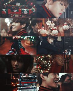 A Christmas miracle [Kim Taehyung FF] – A Christmas miracle – BTS Wallpapers Bts Memes, Bts Christmas, Theme Background, Christmas Aesthetic, Bts And Exo, Bts Chibi, Aesthetic Collage, Bts Lockscreen, Bts Edits