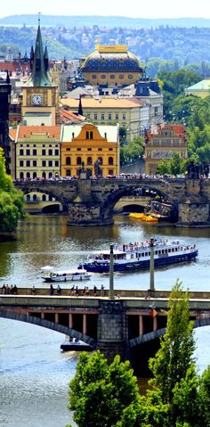 Prague - The city of a thousand spires, Czech Republic.
