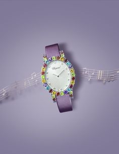 Chopard watch photographed for Luxure Magazine  #watch #jewellery #music #stilllife