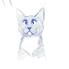 Last one. A little Gracie sketch before bed. I think Gracie is going to wind up being my doc. I'll have to have a play tomorrow. If I can get the pose right then I'm golden.  #cats #cat #catsofig #catslookingcute #catexpressions #catslookingatfood by plane_yogurt