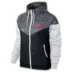 <p>You've never limited yourself to just one sport, and the Women's Nike Windrunner AOP Jacket embodies the spirit of multi-functionality. Transition seamlessly from seasons and activities in this jacket with fierce style.</p><p>Versatile and ventilated, this jacket features a multi-panel scuba hood that zips up to the chin and ribbed cuffs and hem for that snug fit. Mesh lining and vented in the back, this all-conditions jacket maintains excellent airflow no matter where your day takes…