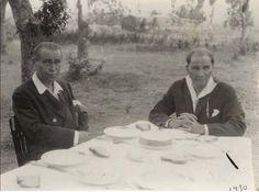 ATATÜRK'ün Az Bilinen Fotoğraflarından...  Yer:1930 Atatürk Orman Çiftliği