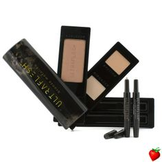 Fusion Beauty Ultraflesh Shine Box Highlight & Shimmer Collection: 2x All Over Highlighter, 2x All Over Shimmer, 1x All Over Enhancer 5pcs #FusionBeauty #Makeup #Highlighter #Women #Beauty #FREEShipping #StrawberryNET