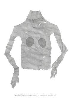 Figure_2/ dessin à la plume / encre sur papier / Rose Holzer Drawings, Lace, Sweaters, Tops, Women, Fashion, Pen Illustration, Atelier, Pink Paper