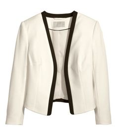 Z Bought in 2014 h&M Jersey Jacket came to stock9 months ago.  Product Description  Description  Short, fitted jacket in stretch jersey with no buttons. Lined.    http://www.hm.com/us/product/24068?article=24068-C