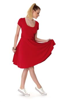 Elegant und funktional zugleich geht nicht?! Unser Kleid Roma beweist das…