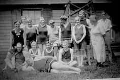 Old-timey swimsuits