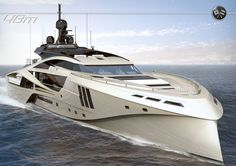 The new Palmer Johnson SuperSport Series has been launched during the 2012 Monaco Yacht Show by Palmer Johnson. At the show, the Palmer Johnson SuperSport, Yacht Design, Boat Design, Private Yacht, Private Jet, Yacht Luxury, Luxury Boats, Bateau Yacht, Monaco Yacht Show, Grand Luxe