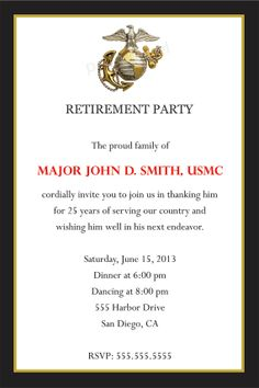Fireman Custom Retirement Party Invitations Retirement Parties