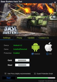 Base Busters Hack Tool No Survey Cheat Engine Free Download