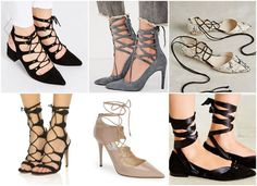 Lace-Up Shoe Wish List . Fall Fashion Trends From Runway to Your Closet on www.StyleBlueprint.com