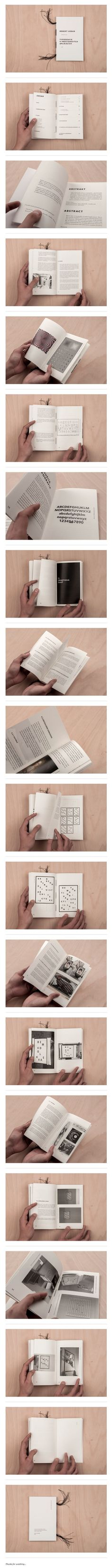 TYPOGRAPHY IN SPATIAL APPLICATIONS \ This book was made as part of my bachelor thesis named: Typography in spatial applications. Complete theoretical part of my thesis. \ Editorial Design, Graphic Design, Typography \ Robert Urban