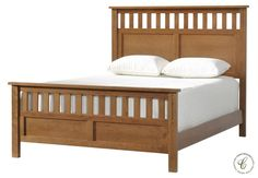 The Keedran Slat Bed, like all our Amish furniture pieces, is handcrafted of responsibly harvested hardwood by our experienced Amish woodworkers.