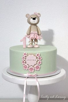 Teddy Bear for a little girl by Lorna