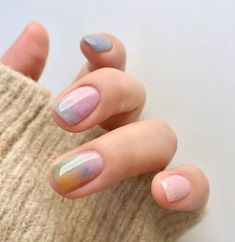 Nagellack Design, Nagellack Trends, Ten Nails, Finger, Nailed It, Bride Nails, Nail Polish, Minimalist Nails, Dream Nails