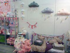 Marché Casse-Noisette 2011 | The Butter Flying ©-Handmade design for Kids. Shop display. Kids store. Rabbit lamp.