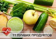 Лучшие продукты для очищения организма