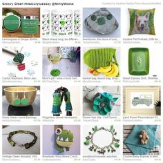Groovy green treasury featuring my green woodland themed charm bracelet. A one of a kind and ready to post. Great Autumn gift or gift for someone who loves green and nature.  http://etsy.me/2auZkvP  #green #etsy #woodland #gifts