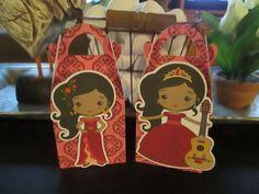 Princess Elena Inspired Gable Favor Boxes  Set of 12